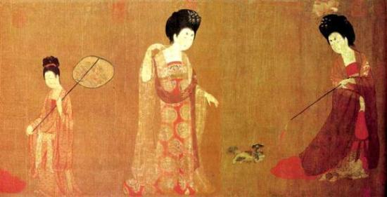 西域古风手绘女