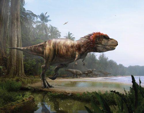 恐龙/暴龙(Tyrannosaurus)又名霸王龙,可能是有纪录以来生活在...