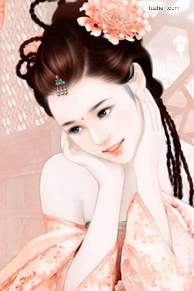 新发手绘美人图片 灌水·图片 论坛 巴蜀网 传统