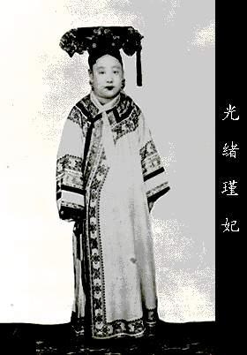 古代 中国 真实照片/清朝后宫佳丽的真实照片,看看皇帝的女人吧!