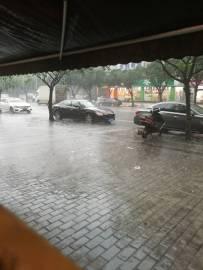 2019年7月22日中午突遇大暴雨