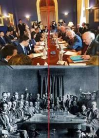 弱国无外交,百年前如此百年后依然如此,这样的丛林法则从未改变