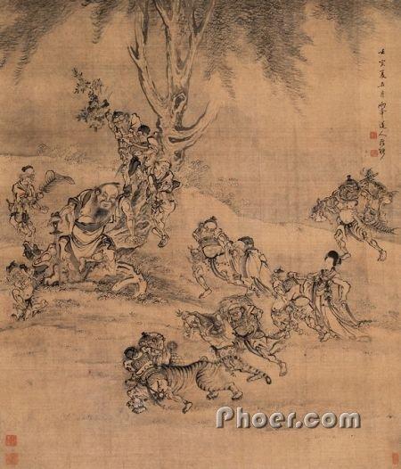 题材绘画欣赏 l 收藏 l 门户 l l 传统文化,民俗风情,现代时尚 高清图片