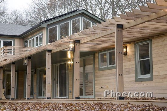 生态环保的木质住宅