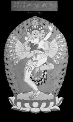 张大千藏传佛教绘画 一代大师学佛参禅的艺术感悟 l 宗教 l 高清图片
