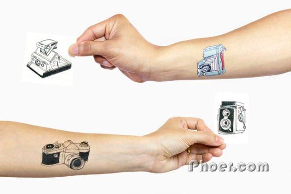 Tattly相机纹身贴纸开售 约合人民币158元图片