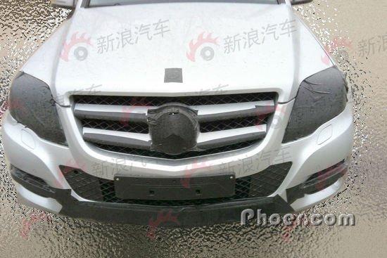 2012款国产奔驰glk 高清图片