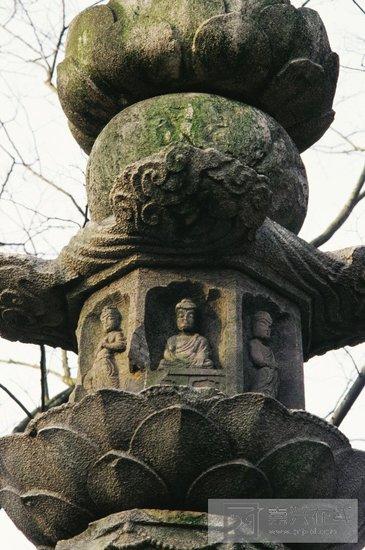 安国寺唐代经幢的照片图片