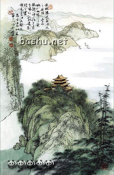 李白的描写风景的古诗